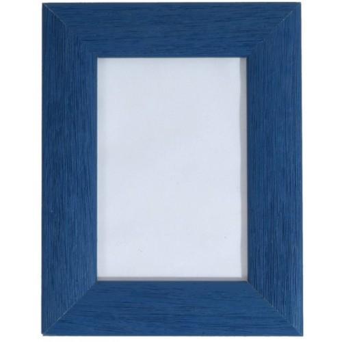 rám v modré barvě